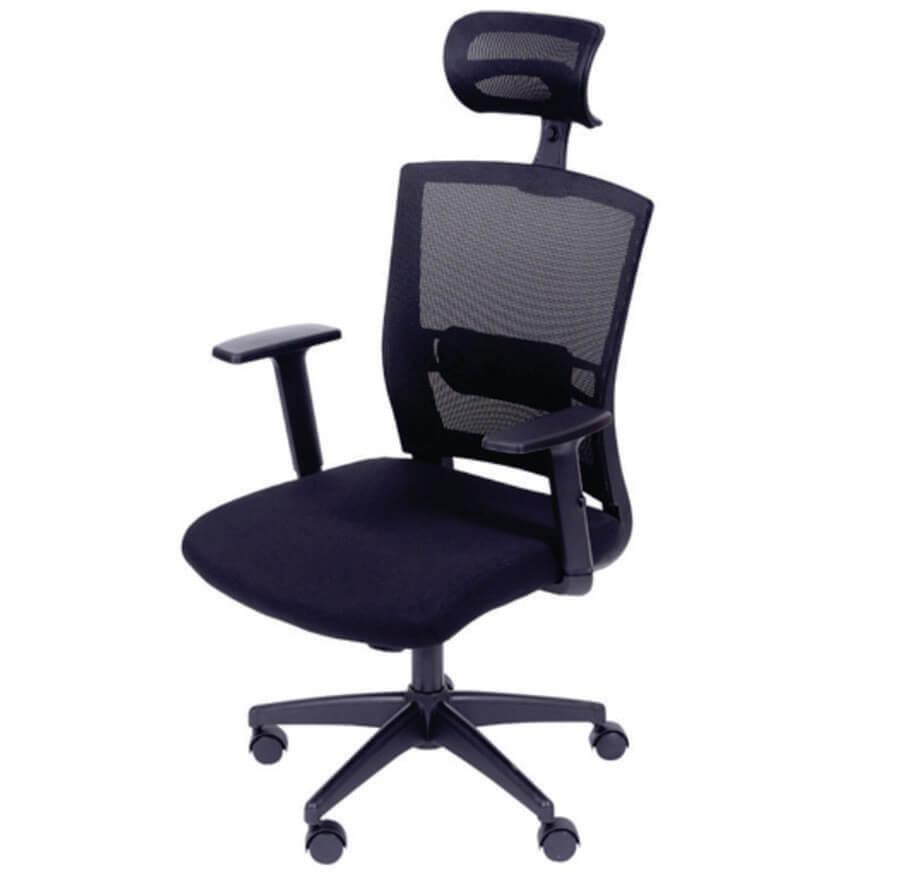Cadeira Presidente Extra Tela Com Regulagem