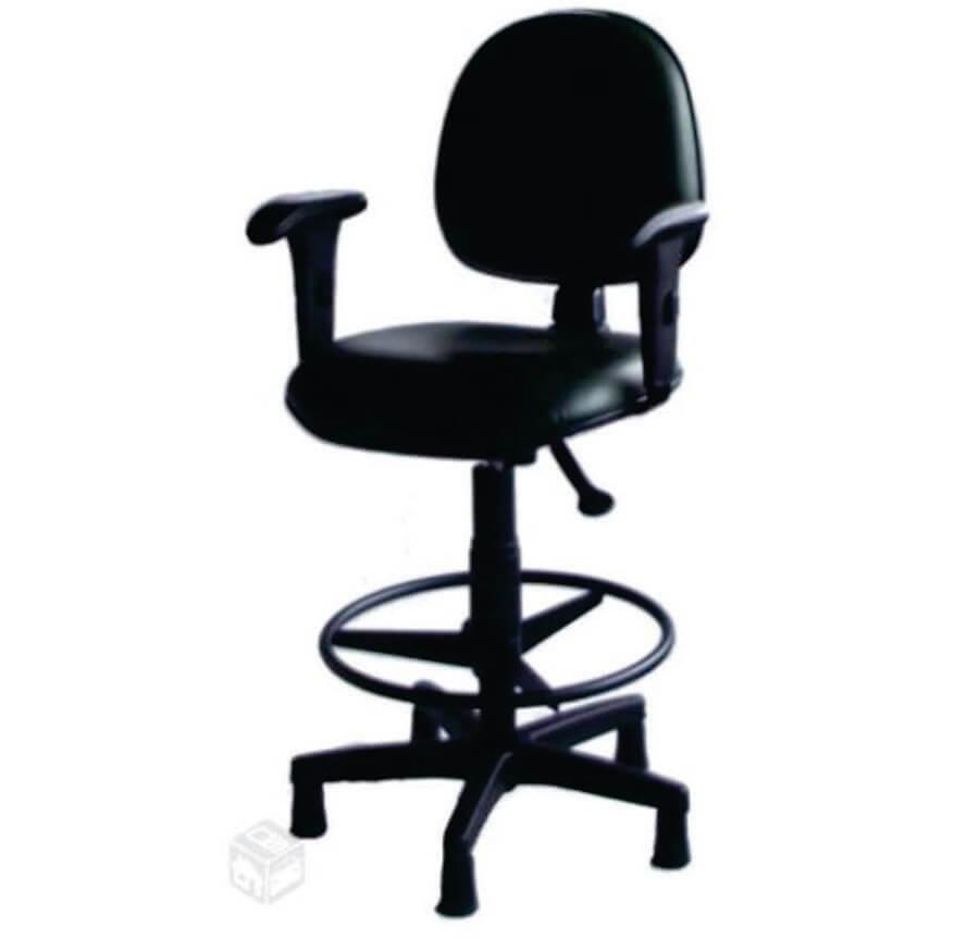 Cadeira Caixa Executiva lisa